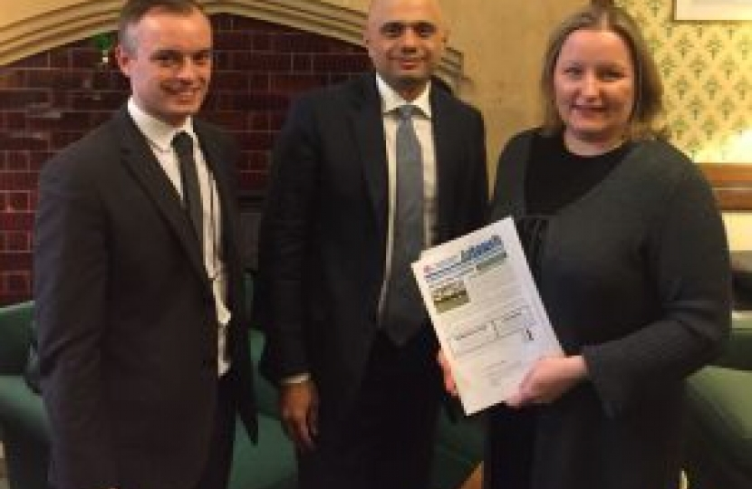 Meet with Sajid Javid